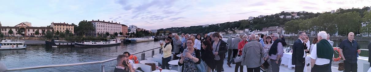 balade en bateau à Lyon